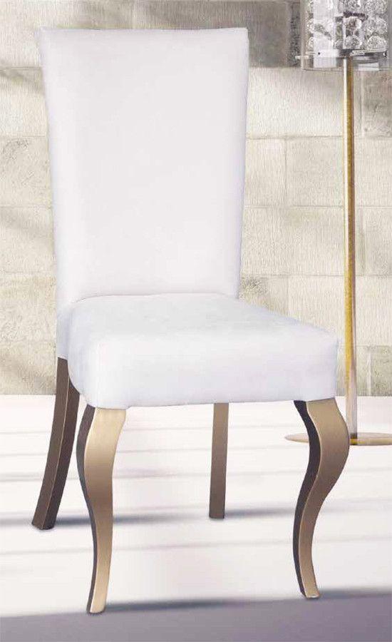 silla comedor tapizada moderna