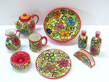 platos de ceramica baratos conjunto de piezas de cer mica jarra taza aceitera