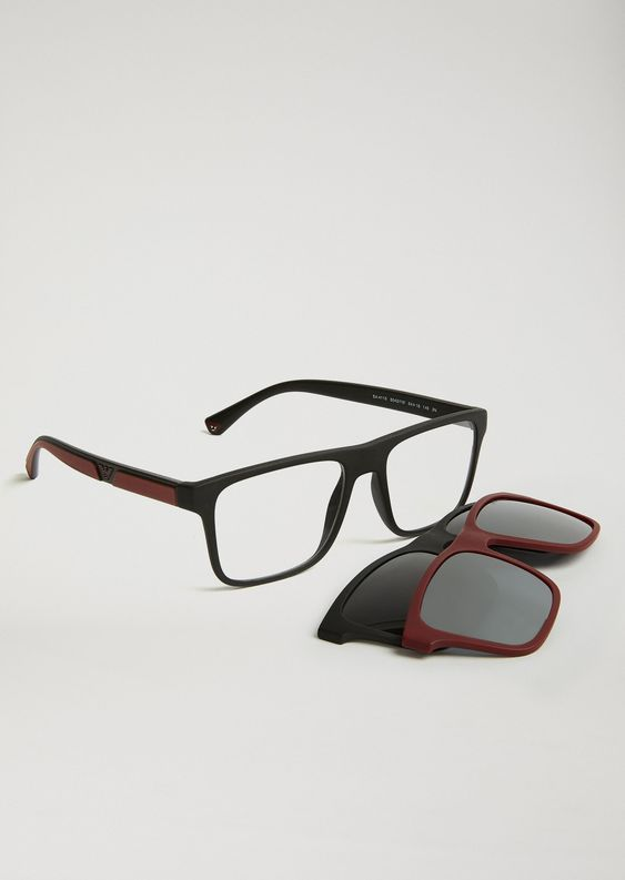 emporio armani glasses mens