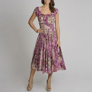 Images of Womens Cotton Summer Dresses - Reikian