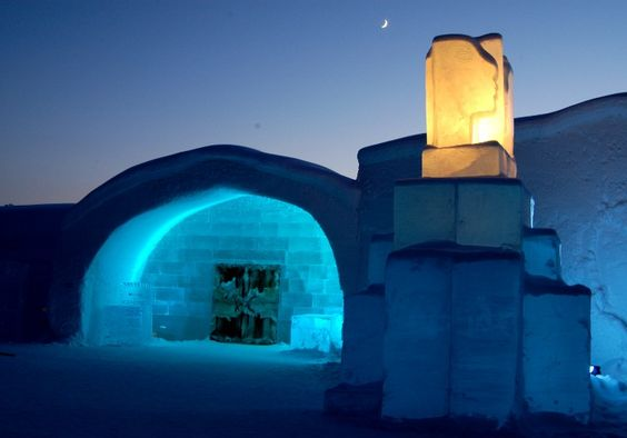 Hotels & Resorts. Stunning Hotel Interior Design with Ice Introducing Eccentric Dwelling: Amazing The Ice Hotel Of Jukkasjarvi Design Ideas All About Ice Unique Concept And Large Blocks Of Ice Beam Arrangement ~ wegli