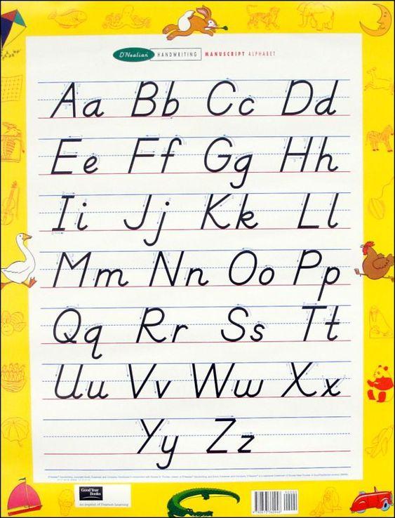 Create your own dnealian handwriting worksheets