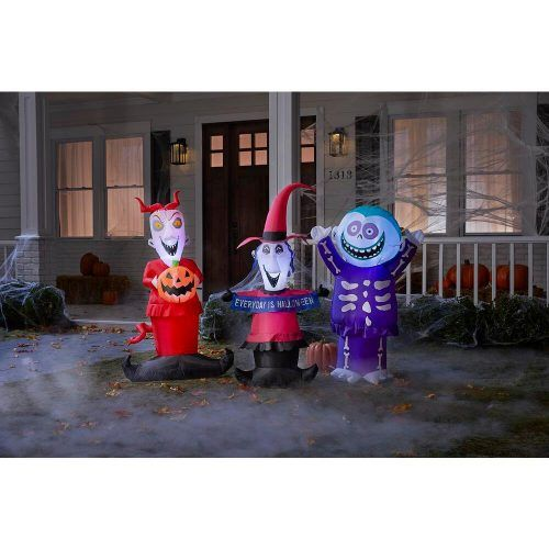 Night before Christmas inflatable decorations