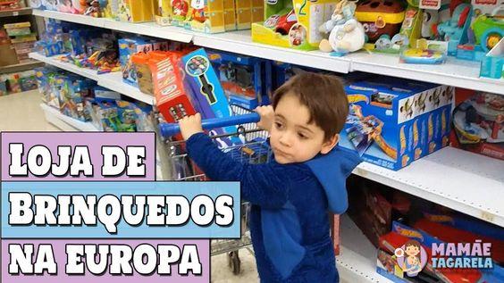 Na loja de brinquedo