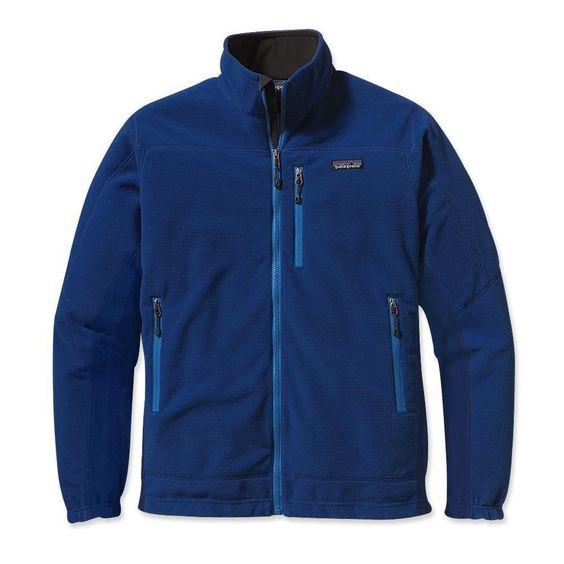 Patagonia Men's Lightweight R4 Fleece Jacket (Blue, M) M Channel ...