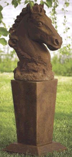 Lawn Ornaments Pedestal And Vase On Pinterest