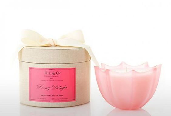 """DL & Co Candle in """"Peony Delight"""""""