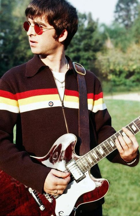 Noel Gallagher - Don't look back in anger. One of oasis' greatest Songs written by the lovely noel