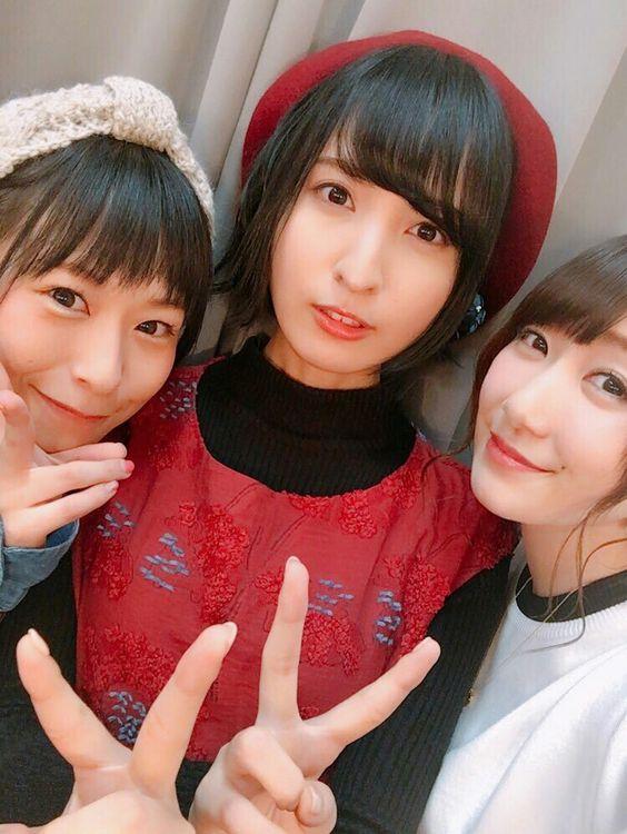 徳井青空さんと佐倉綾音さんと日高里菜さん