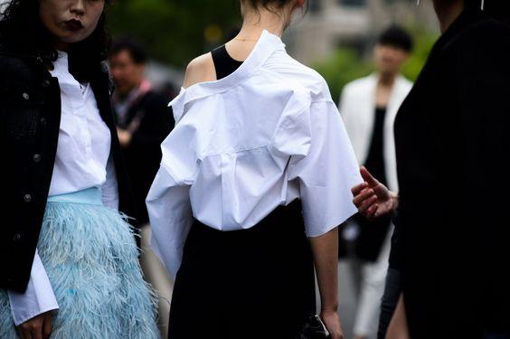 Street Style |  Heping Estrada |  Xangai