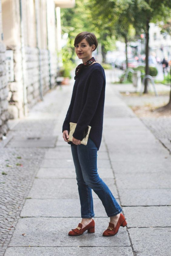 Outfit // Jeans und Wolle