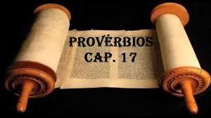 Blog do Pastor Manoel Barbosa Da Silva: Livros dos provérbios - Capítulo 17