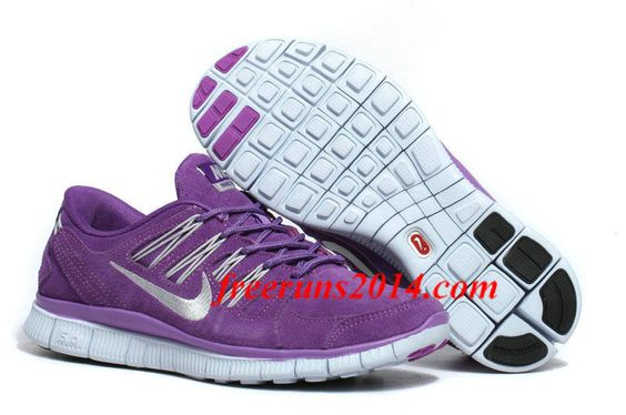 Womens Nike Free 5.0 EXT Purple Silver #Running Shoes #cheap #sale , i want nikes for 2014 summer