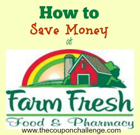 Learn how to save money at Farm Fresh supermarkets with these easy tips.  Did you know they double $1 coupons every Wednesday?!