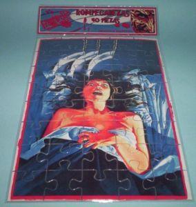 Nancy Nightmare On Elmstreet poster puzzle