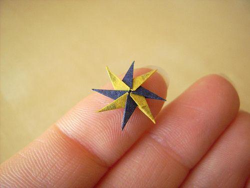 Little origami!