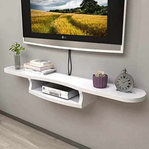 Wall Mounted Tv Cabinet Floating Shelf Bedroom Living Room Wall