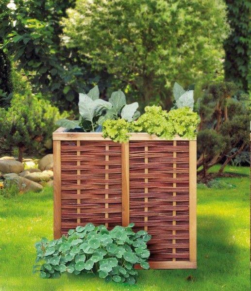 Hochbeet Weide Erweiterbar 80 X 80 X 80 Cm Basis Bausatz Amadeo Ambiente In 2020 Bauerngarten Hochbeet Gartengestaltung