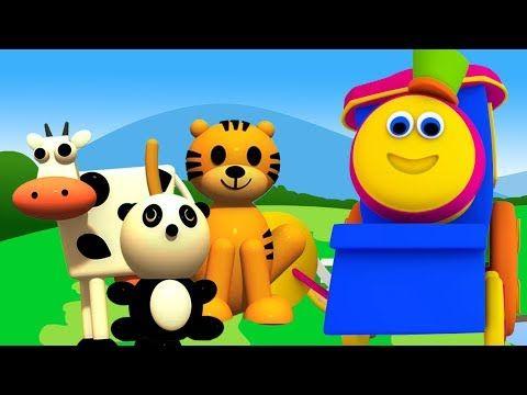 بوب الحيوانات القطار حيوانات للأطفال تعلم أسماء الحيوانات Kids Learn Bob Animals Train Youtube Pluto The Dog Disney Characters Character