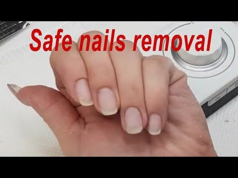 How To Remove Gel Nail Extensions With E File Gel Removal Remove Gel Nails Safe E File K38 Youtube In 2020 Gel Nail Removal Gel Nail Extensions Nail Extensions