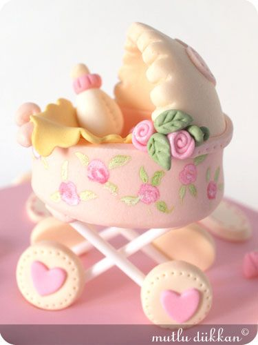 WOW! Baby Shower cake...: