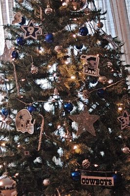 Dallas Cowboys Christmas Tree: