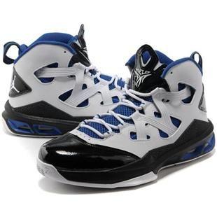 asneakers4u.com Jordan Melo M9 Carmelo Anthony IX Shoes White/Black/Blue0