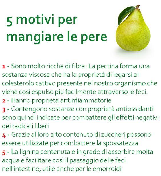 5 motivi per mangiare le pere