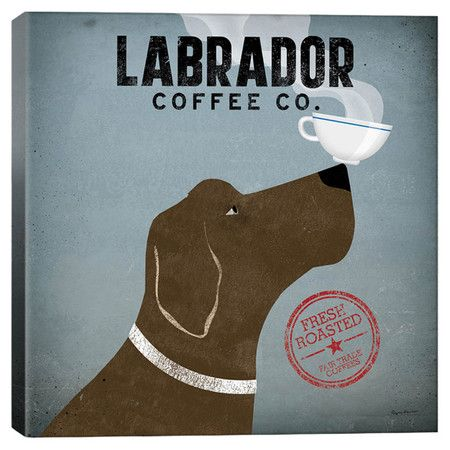 Labrador Coffee Co. Canvas Giclee Print at Joss and Main