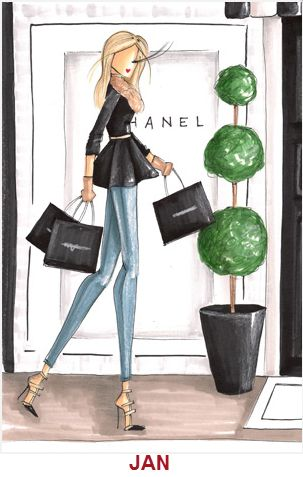 Chanel illustration                                                                                           Más