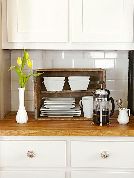Kitchen Organization Storage Tips Wooden Crates Kitchen Kitchen Storage Units Wooden Crate Kitchen Storage