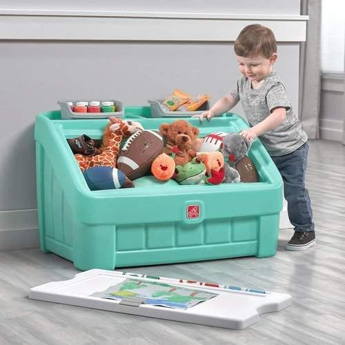 2 in 1 Toy Box #masterpieces#artboard