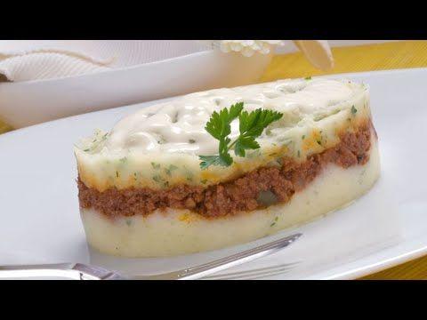 Receta De Pastel De Patata Y Carne Karlos Arguiñano Youtube Pastel De Patatas Recetas De Pasteles Pastel De Carne Receta