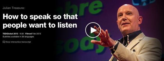5 Great TED Talks on How to Present Before An Audience ~ Educational Technology and Mobile Learning