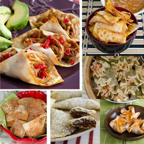 6 Ways to Use Wonton Wrappers