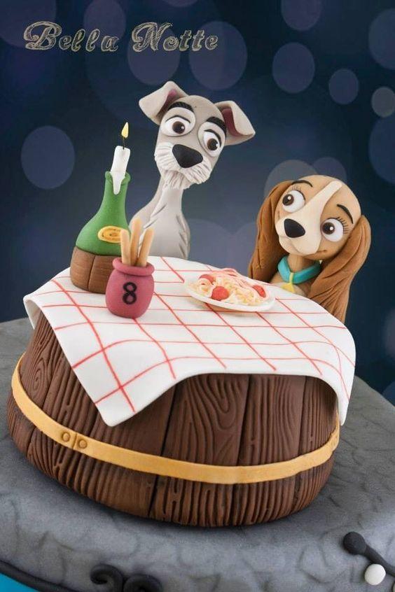 Lady & the Tramp Cake