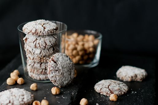 Hungry Rabbit – Nutcrackle, chewy nutella cookies