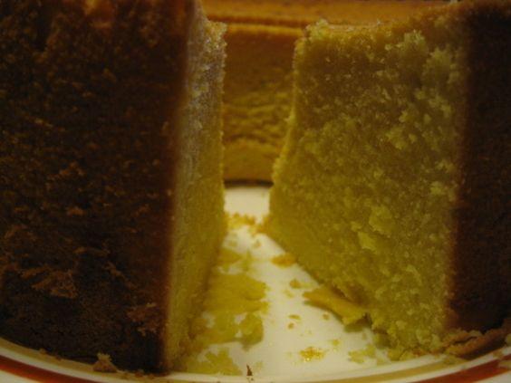 Original Pound Cake from 1700's England