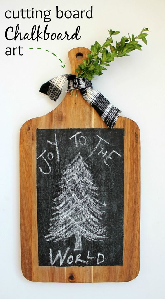 Chalkboard Art Cutting Boards And Cuttings On Pinterest