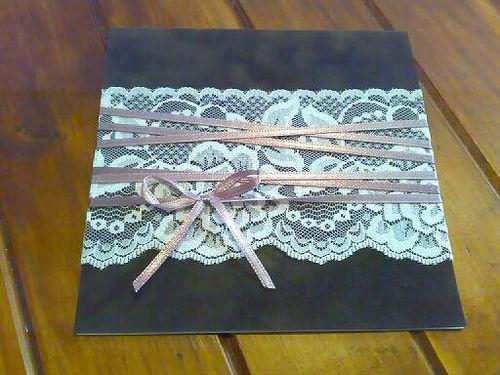 Lace Wedding Invitations!