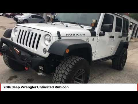 2016 Jeep Wrangler Unlimited Deland Daytona Orlando Gl349566