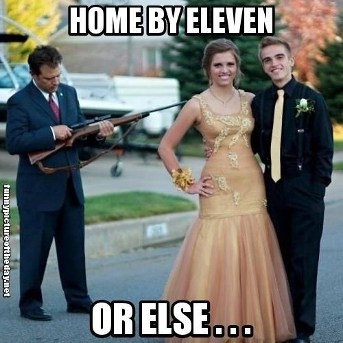 Overprotective Dad Prom Dresses