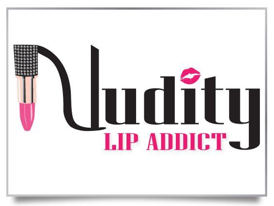 custom logo design for a lipstick lip gloss cosmetics