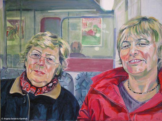 S 1 | Acryl auf Leinwand  120 x 90 cm | 2006