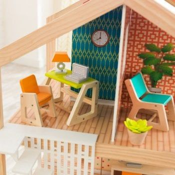 So Stylish Mansion Dollhouse With Easy Assembly From Learning