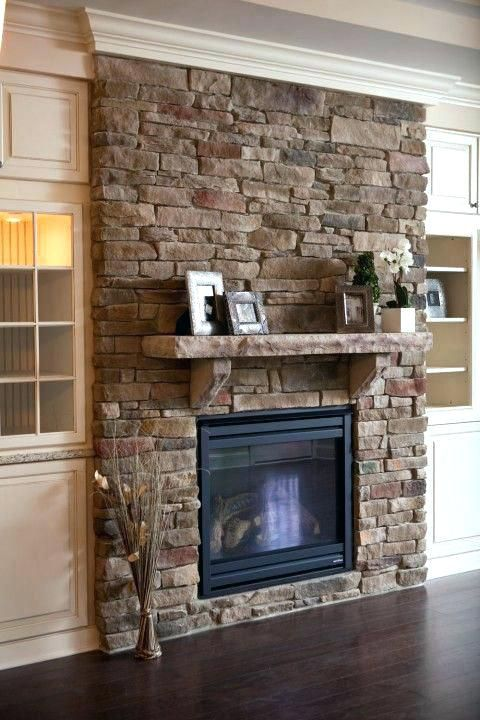 Stone Fireplace Mantels Ideas With Mantel Surround Decorating