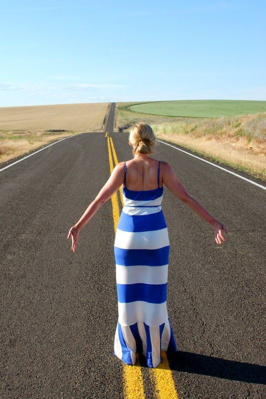 Obsessed with this beautiful striped @Nordstrom Rack maxi on @Whitney Strong
