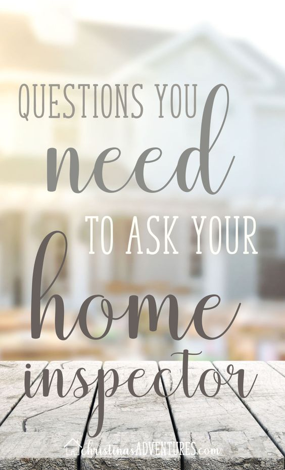 When it comes to buying a home, an inspection is critical! Read these questions to ask your home inspector so you can be prepared, equipped, and ready to handle issues you may come across with your potential home. #homeowner #home