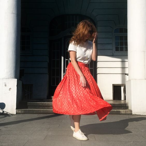 Favorite vintage skirt!