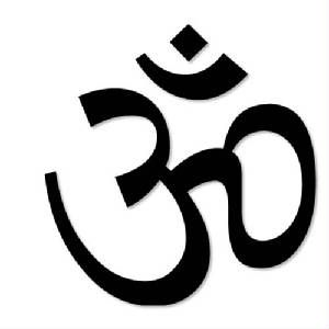The sublime tranquility of yoga and mediation. Om